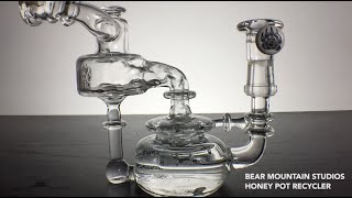 420 Science Bear Mountain Studios Honey Pot Recycler Slow Motion by 420 Science Club