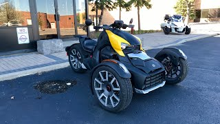 10. 2019 Can-Am Ryker 900 Rally First Ride Review | Drifts and Burnouts 4K