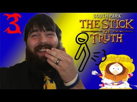 Farting On Kenny! Let's Play South Park: The Stick Of Truth! Part 3!