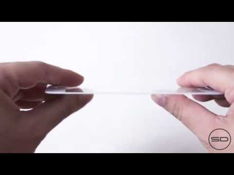iPhone 6 4.7-inch sapphire crystal front panel scratch / bend test