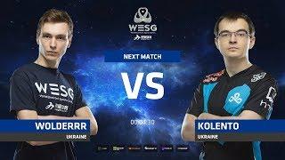 Wolderrr vs Kolento, game 1