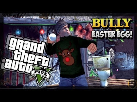 5 - GTA 5 Easter Eggs - Bully Scholarsip Edition GTA 5 Easter Eggs In GTA 5 Online (GTA 5 Easter Eggs) - More GTA 5 Online Easter Eggs Subscribe To My Channel - http://bit.ly/1hfHVIA Also Leave...