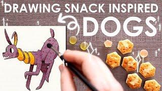 Video DOGS Designed From SNACKS - Tokyo Treat Creations MP3, 3GP, MP4, WEBM, AVI, FLV Januari 2019