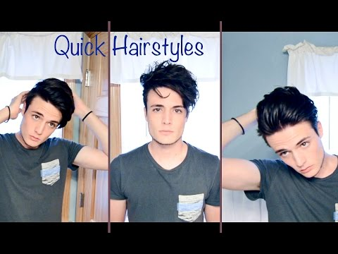 Mens Hair: Quick and Easy Hairstyles