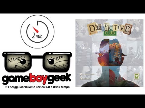 Detective Club (2-min Allegro) Review with the Game Boy Geek