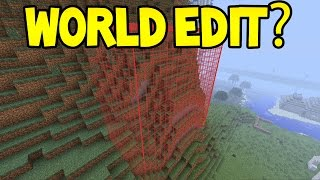 Minecraft Unlikely Features - WORLD EDIT!