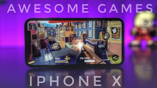 Video 20 GAMES I PLAY ON MY iPHONE X MP3, 3GP, MP4, WEBM, AVI, FLV November 2017