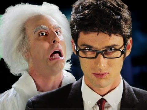 Doc Brown vs Doctor Who.  Epic Rap Battles of History Season 2. (видео)