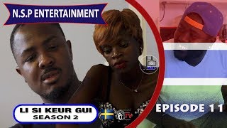 A GAMBIAN SERIES/DRAMA MADE IN SWEDEN.