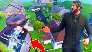 HIDE AND SEEK AT LACHLANS  - Fortnite Battle Royale