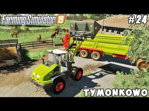 Harvesting carrots, spreading manure and slurry | Tymonkowo | Farming simulator 19 | Timelapse #24