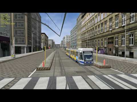 OR (MSTS compatible simulator): Light Urban F2 Tramway route