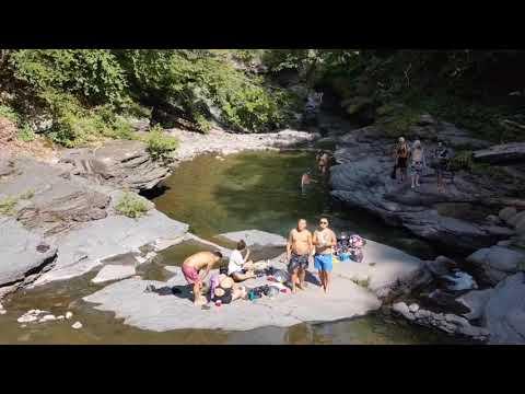 Peekamoose deep blue hole/ catskill park/Tibetan vlog