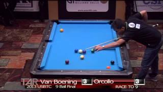 2013 US Bar Table Championships 9 BALL FINAL: Dennis Orcollo Vs Shane Van Boening