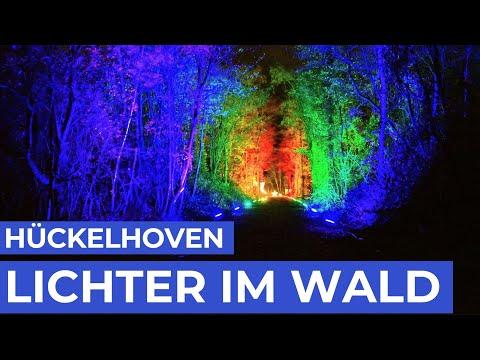 Magischer Wald aus 300 000 Lichtern | Haldenzauber 2019 | Hückelhoven