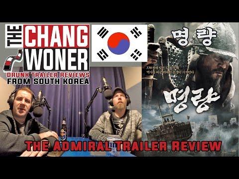 명량 (The Admiral: Roaring Currents 2014) Drunk Trailer Review