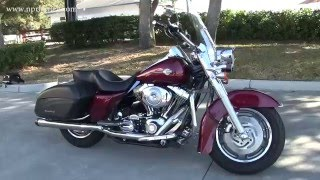 3. 2004 Harley Davidson Road King Custom Rinehart Exhaust