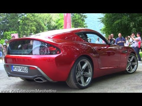 BMW Zagato Coup SOUND! - World Debut