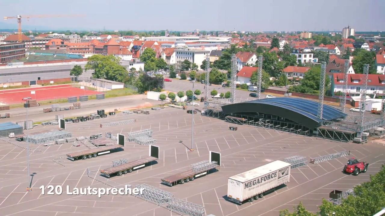 Die Hessentags-Arena steht!