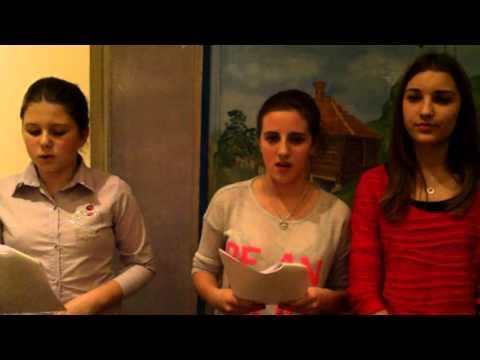 ''Oj nevene moj nevene'' pjevaju članice grupe ''VILE'' iz Barajeva