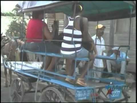 de transporte público en Cuba ocasiona la existencia de coches de