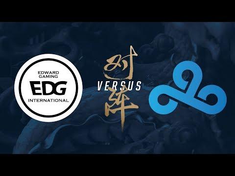 EDG vs. C9 | Group Stage Day 8 | 2017 World Championship | Edward Gaming vs Cloud9