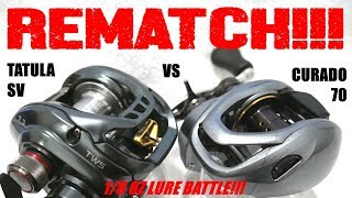 Video THE REMATCH!!! DAIWA TATULA SV VS SHIMANO CURADO 70: 1/8 OZ LURE SHOOTOUT MP3, 3GP, MP4, WEBM, AVI, FLV Mei 2019