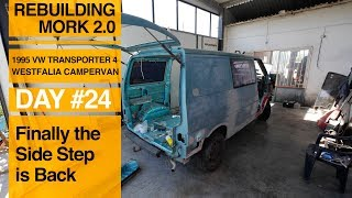 Replacing the Side Step on a VW T4