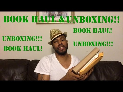 NOVEMBER BOOK HAUL AND UNBOXING!!!!