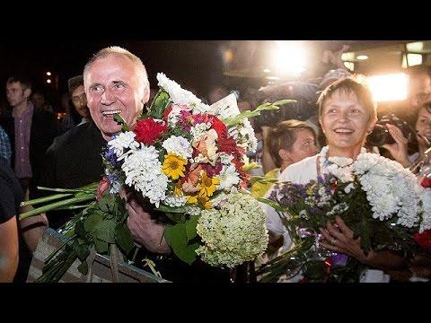 Λευκορωσία: Αποφυλακίστηκαν έξι στελέχη της αντιπολίτευσης