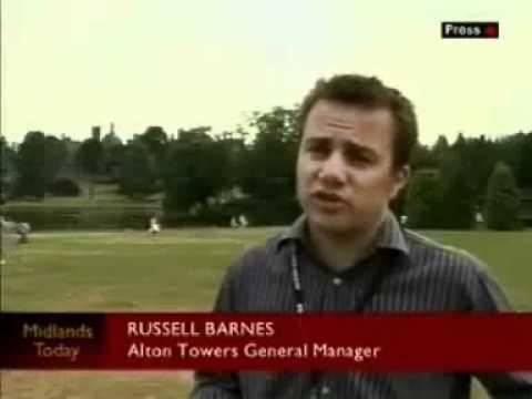 Alton Towers Runaway Mine Train Accident On News