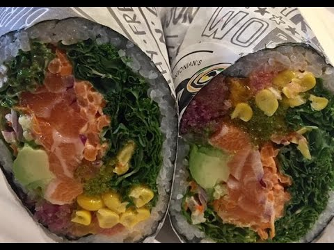 Суши-буррито — вкуснейший космополит!