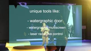 Watergraphic- das Original. We control water
