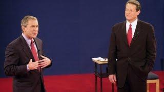 George W. Bush and Al Gore 3rd Presidential Debate 2000