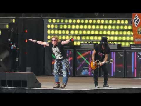 Guns N' Roses - Live @ Moscow 13.07.2018 (видео)