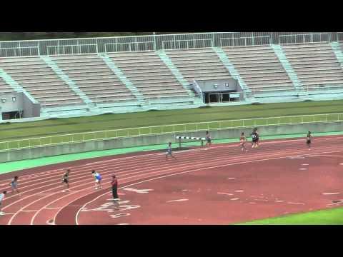 2014 常陸太田市中学校陸上競技大会 男子4×100mR 決勝