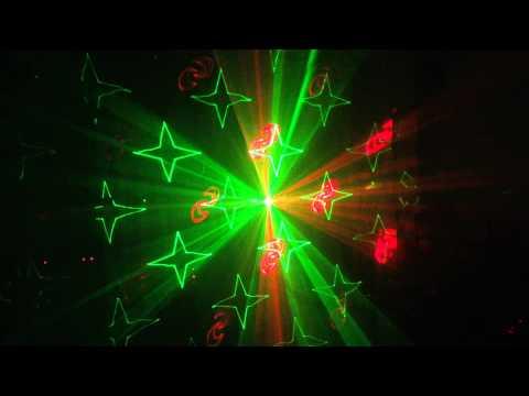 Đèn tia laze Dragon chiếu sân khấu