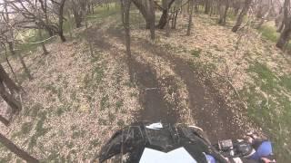 9. Can-am ds450 vs honda trx 450r trail riding.