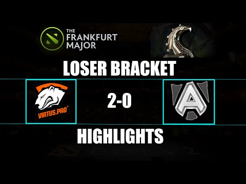 The Frankfurt Major: Virtus.Pro 2-0 Alliance Highlights Loser Bracket