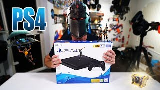 IST FORTNITE AUF DER PS4 EINFACHER? | PLAYSTATION 4 UNBOXING - REVIEW - TEST [DEUTSCH/GERMAN]