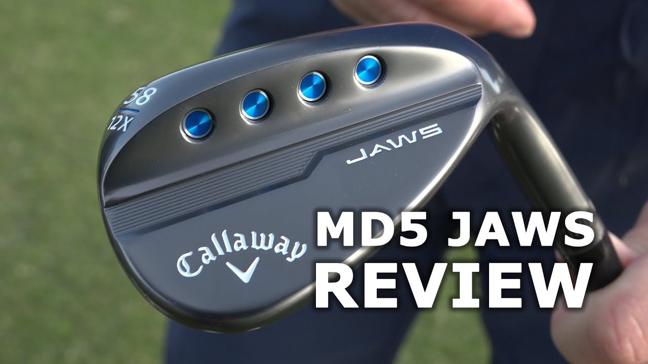 NEW Callaway MD5 JAWS tested - Do they bite like a shark?