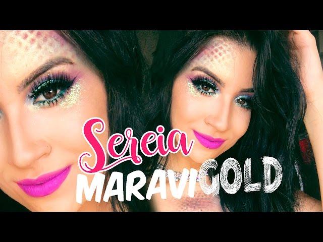 MAKE SEREIA MARAVIGOLD PARA O CARNAVAL!!! - Boca Rosa