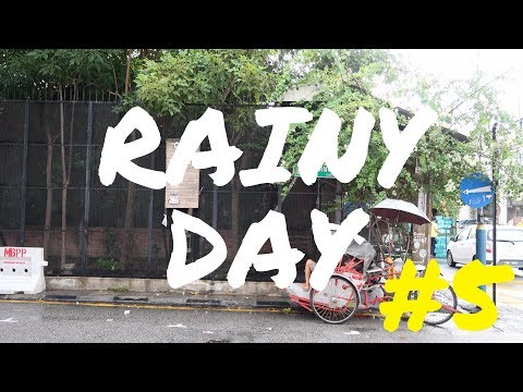 Rainy Day In Georgetown , Penang  Vlog #5