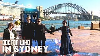 The TARDIS & a mammoth 3D illusion landed in Sydney. So I went down to catch the sight and chat with CrispyPro and the folks who make the Official Doctor Who Props!!IconicStudioCreations: http://iconicstudiocreations.com/CrispyPro: https://www.youtube.com/user/crispyproproductions-------------------------------------------------------------Side Channel: http://goo.gl/jLTgcRPatreon: https://www.patreon.com/TheDoctorOfWhoTwitter: http://twitter.com/#!/TheDoctorOfWhoInstagram: https://instagram.com/thedoctorofwho/Facebook: http://www.facebook.com/pages/WillLOVESKaren/135047939933027