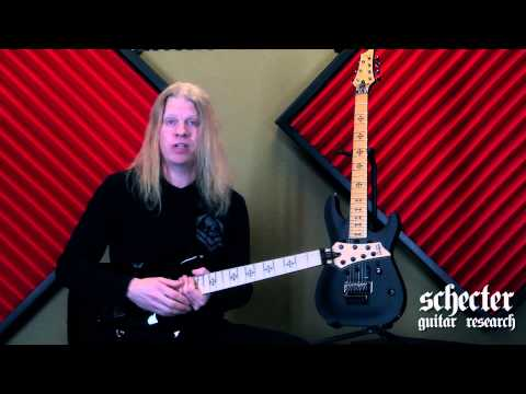 Schecter Artist JEFF LOOMIS talks about his JL-7