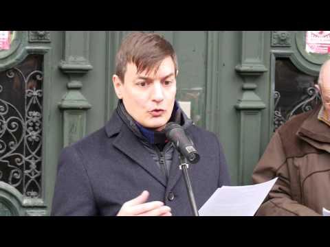 Emléktáblát avattak Kézdy György színész tiszteletére