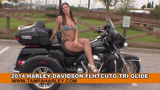 3. New 2014 Harley Davidson Tri Glide Ultra  - Trike for Sale
