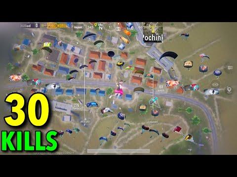 NEW SUPER EPIC RUSH GAMEPLAY | 30 KILLS | Solo vs Squad | PUBG MOBILE