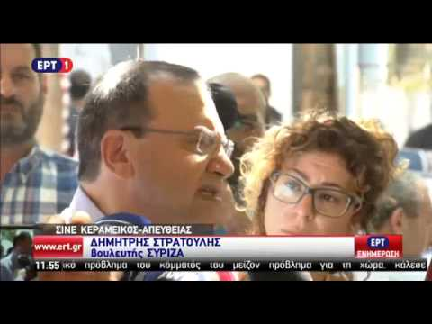Δ. Στρατούλης: Θα κάνω κάθε προσπάθεια για απεγκλωβισμό του ΣΥΡΙΖΑ από τα μνημόνια