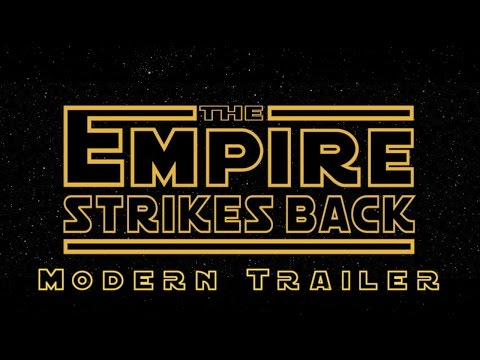 Modern Trailer Of Star Wars The Empire Strikes
